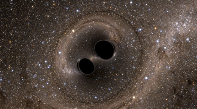 3bn years old & 3bn light years away – but black hole cosmic wave detected in 2017