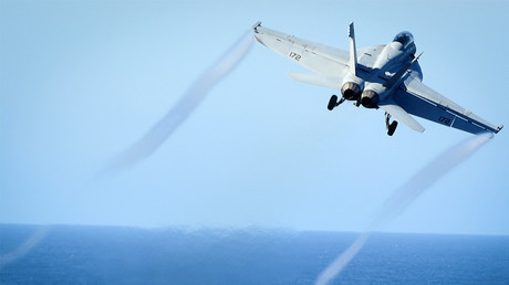 FILE PHOTO: An F/A-18E Super Hornet © U.S. Navy / Seaman Weston A. Mohr