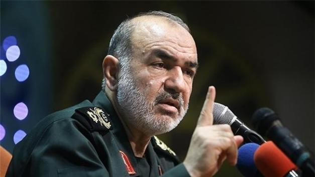 Iran's Islamic Revolution Guards Corps (IRGC)'s second-in-command, Brigadier General Hossein Salami