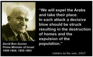 modern day propaganda zionism ben gurion quote