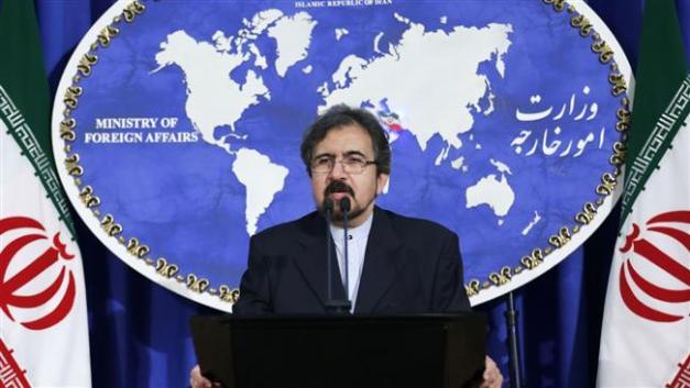 Iranian Foreign Ministry spokesman Bahram Qassemi