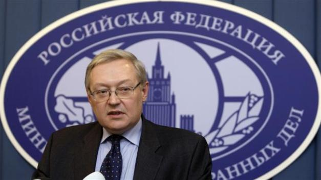 Russian Deputy Foreign Minister Sergei Ryabkov (Photo by Reuters)
