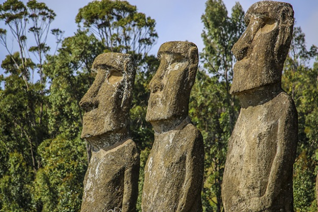 Image: Easter Island ancient people didn't die off from destroying their ecosystem, new study confirms