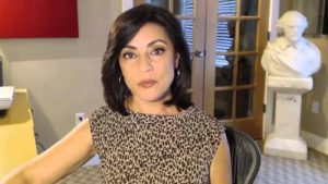 Ex-FBI whistleblower Sibel Edmonds.