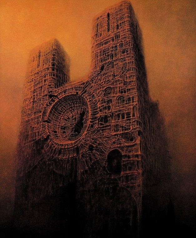 Nightmarish But Incredibly Beautiful Paintings By Polish Artist