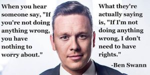 nothing to hide propaganda ben swann quote