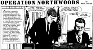 Northwoods Cartoon Mack White