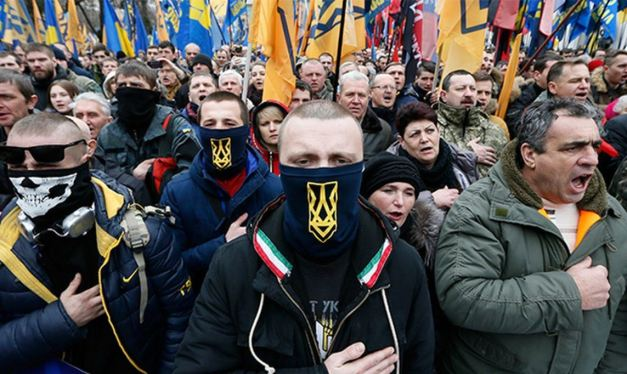 Pentagon Denounces American Nazis While Arming Ukrainian Nazis