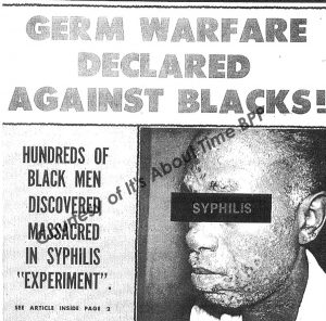 declassified files Tuskegee syphilis experiment