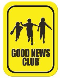 Good news club sign