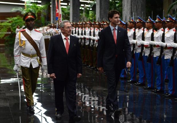Trudeau Cuba 20161115
