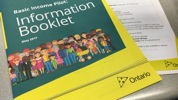 "The province began mailing information packets to ""random"" households in June."