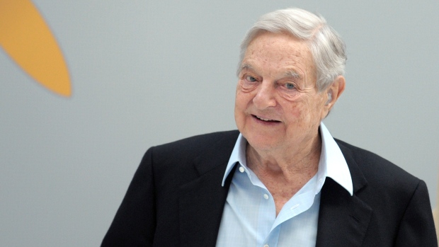 Hungarian-born George Soros, who made a huge profit betting against an overvalued British pound in 1992, is a vocal supporter of liberal causes and backed Hillary Clinton in the election last year.