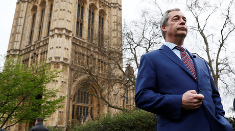 Nigel Farage © Stefan Wermuth