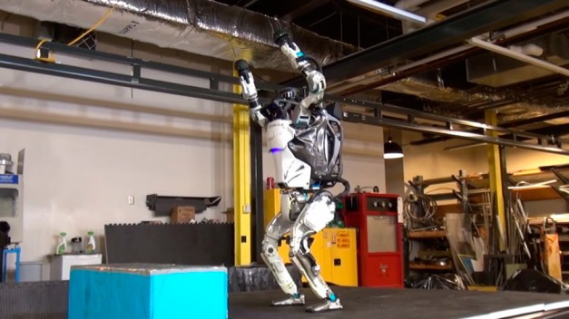 Humanoid robot Atlas nails perfect backflip in eerie VIDEO