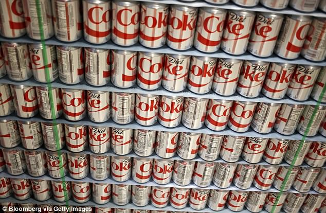 Trump's TV habit is accompanied by a drinking one - but Diet Coke, not alcohol, is the tipple of choice for the teetotal president. He drinks 12 cans a day, far more than is recommended