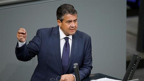 German Foreign Minister Sigmar Gabriel © Axel Schmidt