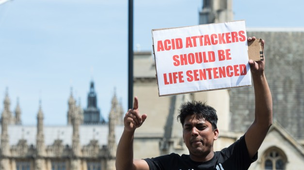 Acid attack epidemic makes parts of London 'no go' areas, Labour MP warns