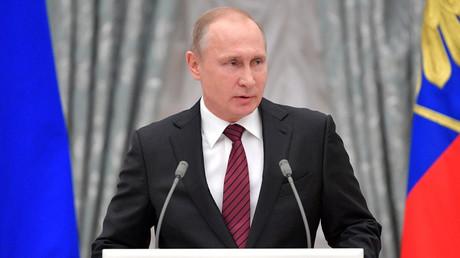 Russian President Vladimir Putin © Kremlin / Global Look Press
