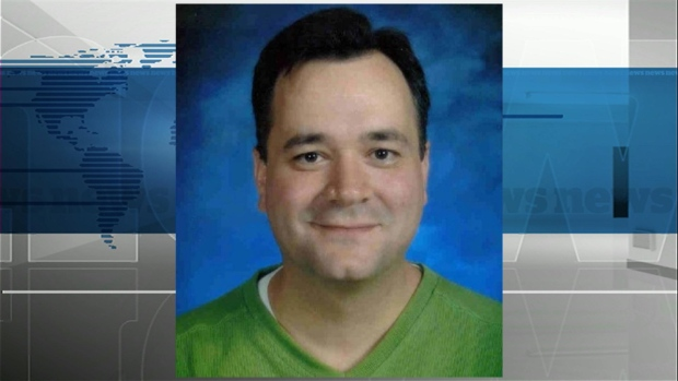 Former Edmonton teacher Paul Martial, shown in this school picture, is now serving a 10-year prison term for sexual interference and luring in the case of a girl who was 11 when she was his student.