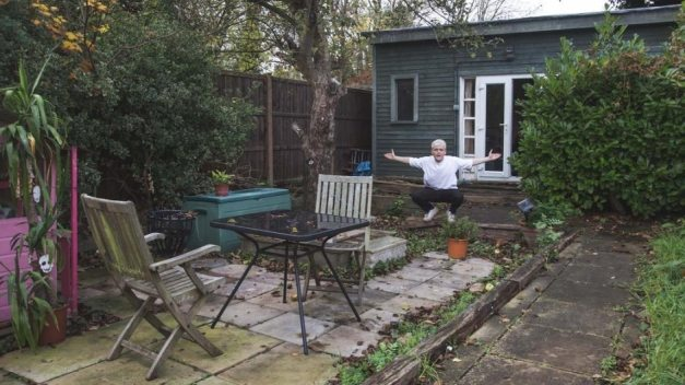 Oobah Bulter shows off his shed and garden — which were briefly rated the No. 1 London restaurant on TripAdvisor.
