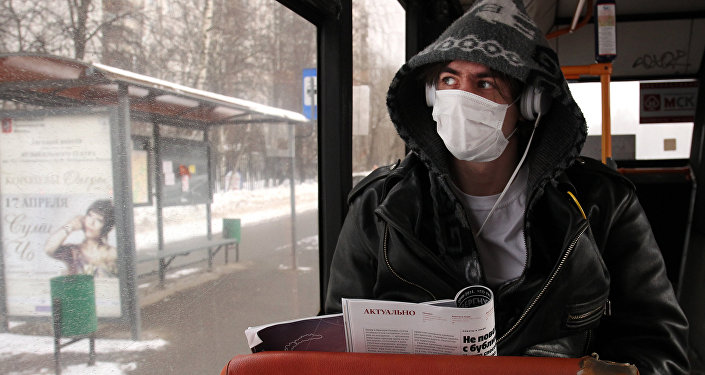 Preventative measures against flu in Moscow