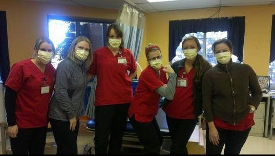 Nurses and Healthcare Workers Across the U.S. Are Refusing Mandatory Flu Vaccines Nurses-facemasks1