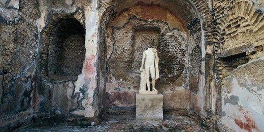 ancient rome baia party