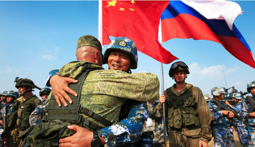 china russia troops