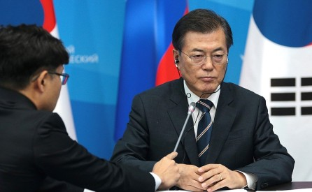 Image result for south korea president