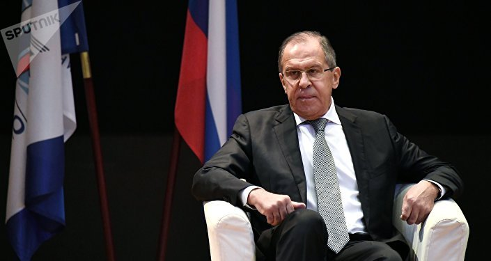 Russian Foreign Minister Sergei Lavrov meets with MGIMO students and academic staff