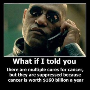 natural cancer cures suppression