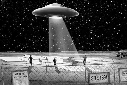 ufo nuclear power plant