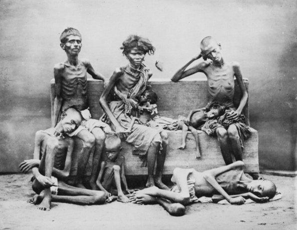 1876-1879 Famine in India