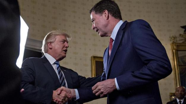 Comey was fired from his post as FBI director in May of last year [File: EPA]