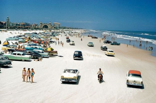 Daytona Beach,1957