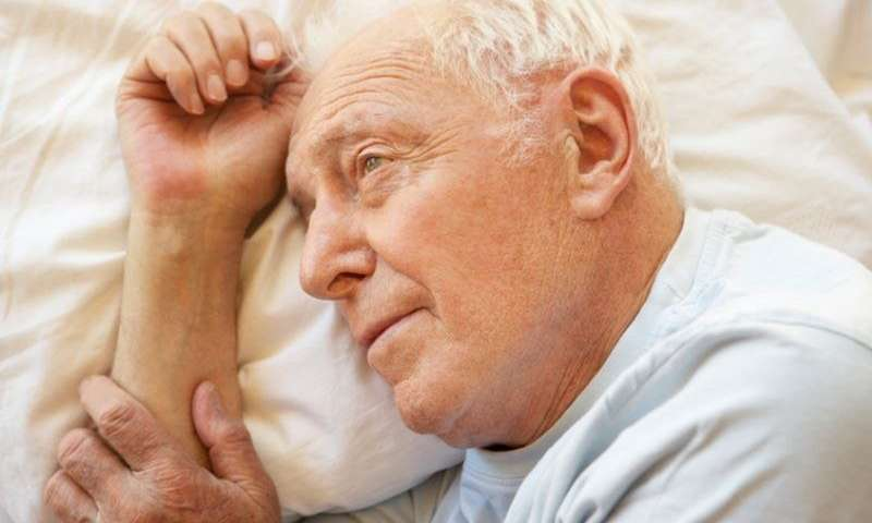 Sleepless nights show ties to alzheimer's risk