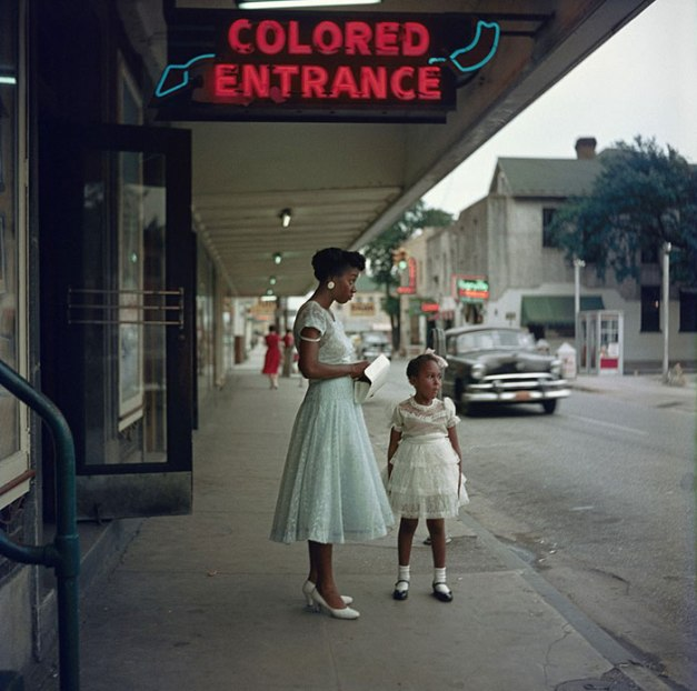 Colored Entrance, Alabama, 1956