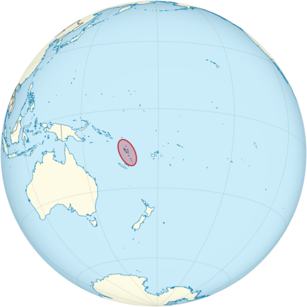 Vanuatu has strategic value in the South Pacific.