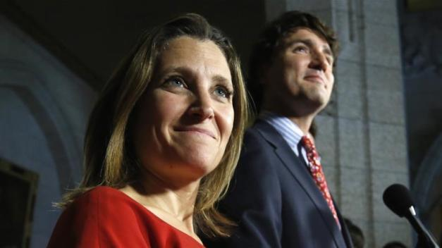 """Trudeau and Freeland believe that Israel has the """"right"""" to kill as many Palestinians as it wants to, whenever it wants to, for whatever reason it wants to, writes Mitrovica [Reuters]"""