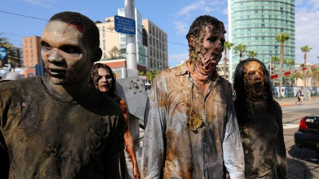 'Extreme zombie activity' alert issued in Florida