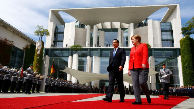 China and Germany sign €20 billion in trade deals in response to US tariff hikes