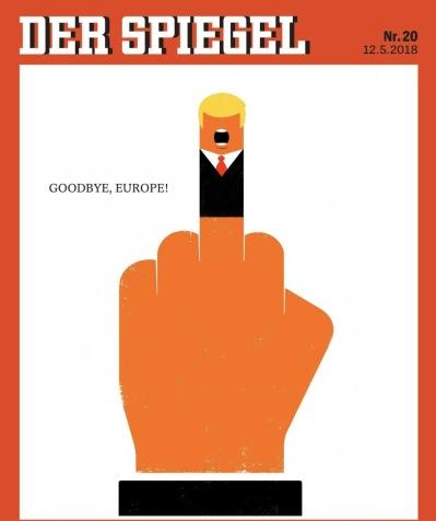 Der Spiegel Trump Cover