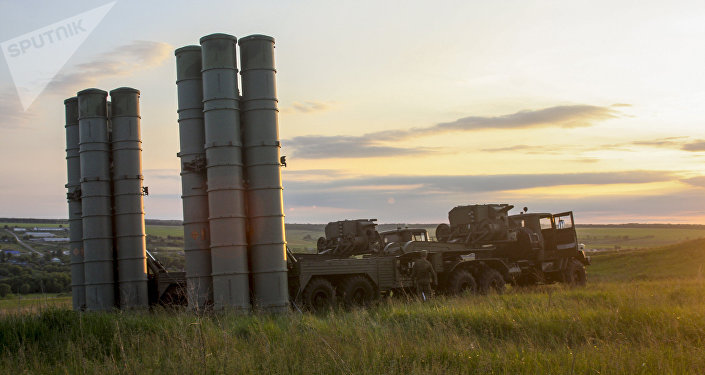 S-300 Favorite surface-to-air missile systems. (File)