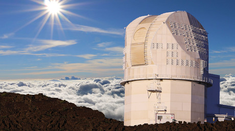 FILE PHOTO: DKIST telescope © National Solar Observatory