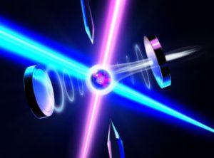An atom's quantum information written onto a photon polarization state