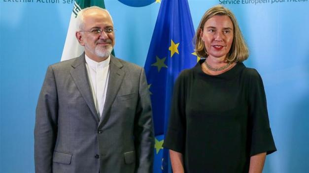 The EU has vowed to stick to the 2015 nuclear agreement with Iran [File: Stephanie Lecocq/AP]