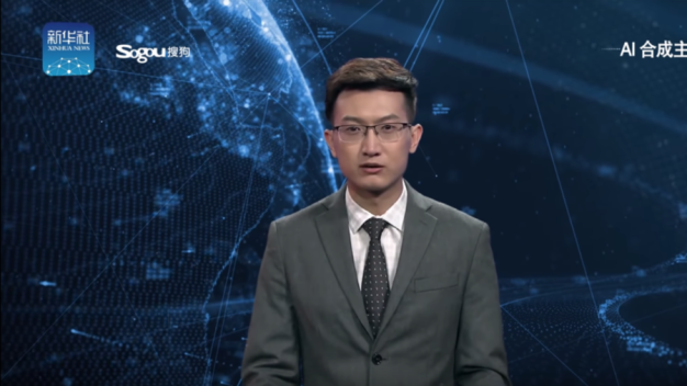 Newsroom of the future? Chinese TV unveils unnerving 'AI anchors' (VIDEO)