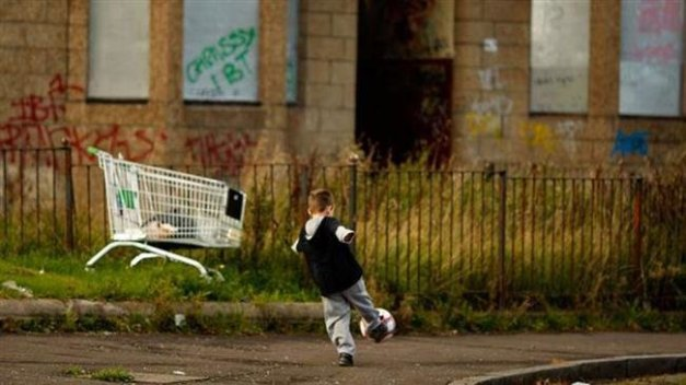 The UK government abolished child poverty targets in 2015. (File photo)