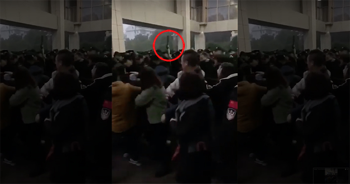 Police and Parents Clash in China After 145 Children Get Sick From Vaccines Chinaclash